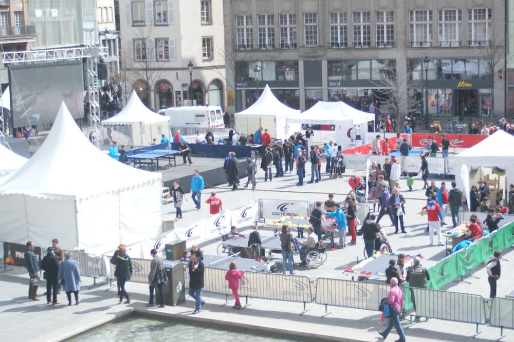 Mondial Ping à Strasbourg